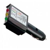 Анализатор состояния и зарядки АКБ (12 В через прикуриватель)  FORCE 88424