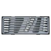 12пр. Набор ключей комбинированных трещоточных(7,8,10-19)  Forsage 51210
