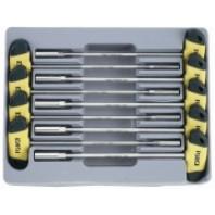 Набор ключей торцовых Т-образных 6-гр. 9пр. (5-13мм - 300ммL)  FORCE 2095