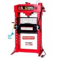 Пресс пневмогидравлический, 75т профессиональный с защитной решеткой  Big Red TY75021