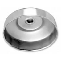 Съемник масляного фильтра (крышка) 73 мм-15 гран. (GM, Ford, Mitsubishi)  FORCE 6317315