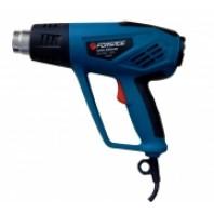 Фен промышленный электрический с индикатором температуры и насадками  Forsage HG55-2000LED