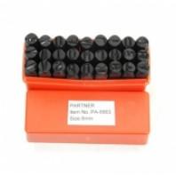 Набор буквенных штампов 27пр. (8мм)  Partner PA-6863-8