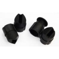 Комплект направляющих наконечников для пескоструйного пистолета HSB-I (4шт)  Forsage HSB-IP