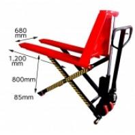 Тележка гидравлическая для перевозки, поднятия и опускания грузов на паллетах 1.5т  (макс высота подъема  800 мм)   Big Red TRE8220H