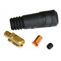 Разъем сварочный 10-25 мм2 DX25 TELWIN (папа) (712039)
