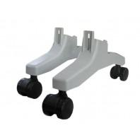 Ножка опорная с колесами для конвекторов Термия ЭВНА (КОА-03) (ТЕРМИЯ)