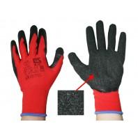 Перчатки нейлон латекс вспенен. неполн. покрытие (бесшовные)13кл (L2001)