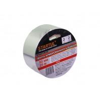 Лента алюминиевая клейкая 50ммх50м STARTUL PROFI (ST9047-50-50)