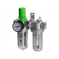 Фильтр воздушный ECO с регулятором давления и маслораспылителем (1/2