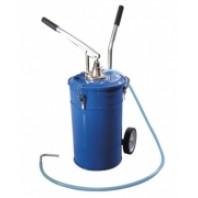 Емкость для нагнетания масла 20л с пневмонасосом  Partner PA-1002
