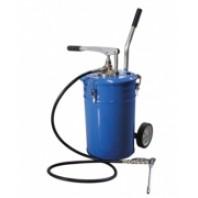 Емкость для нагнетания смазки 20л с рычажным нагнетателем  Partner PA-1001
