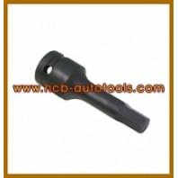 Головка-бита ударная 6-гранная для тормозного суппорта Н9 78ммL (Benz M&R-class) 1/2
