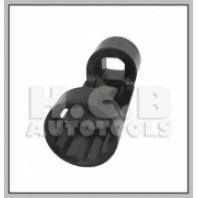Ключ для откручивания штока амортизатора (12-гран., 21мм) (VW, BMW), 1/2