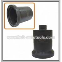 Головка для ступичных гаек для грузовых Benz (H36, 12-гран., 95мм)  HCB A1387