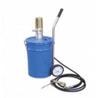 Емкость с пневмонасосом  для нагнетания смазки 20л  Partner PA-1003