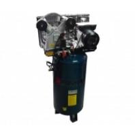 Компрессор 100л  2-х поршневой с ременным приводом вертикальный  Forsage TB265-100(vertical)