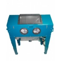 Пескоструйная камера с очисткой воздуха (420л, 220В, 340л/мин, 3.4-8.5атм)  Forsage SBC420