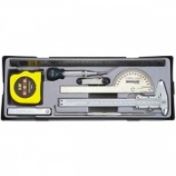 Набор измерительного инструмента 9 пр.  FORCE 5096