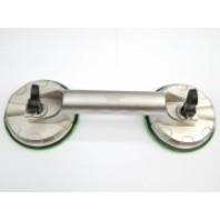 Съемник стекол двухзажимной (присоска) диам. 123мм-60кг (алюм.)  Forsage 63403A
