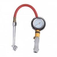 Пистолет для подкачки шин с манометром и  наконечником  для груз. колес  Partner STG-04