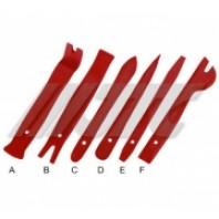 Комплект приспособлений для снятия облицовок панели 6 ед.  JTC JTC-5625