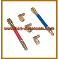 Комплект адапторов для установки заправки кондиционеров 5пр.  HCB A5003