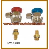 Быстроразъемы для шланга установки заправки кондиционера  HCB A5004