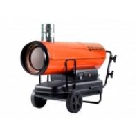 Нагреватель воздуха дизельный непрямой нагрев, 50 кВт, 2 колеса  Ecoterm DHI-50W