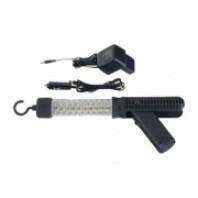 Диодная аккумуляторная лампа 2 крюка и 2 магнита 3-4 ч горения  FORCE 68606